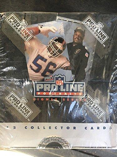 1991 Pro Line Football Signature Sereis NFL Football Card Box