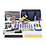HOTPDR Paintless Dent Removal Tools Dent Repair Glue Puller Kit Pdr Tools for Auto Body Dent Repair (77 Pcs)