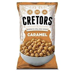 G.H. Cretors Popcorn, Just the Caramel Corn, 8-Ounce Bags (Pack of 12) (1326382)