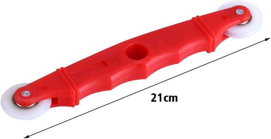 Portable Hand Rolling Tool Spline Roller Werkzeuge mit Nylon Griff f/ür T/ür Fenster Installation