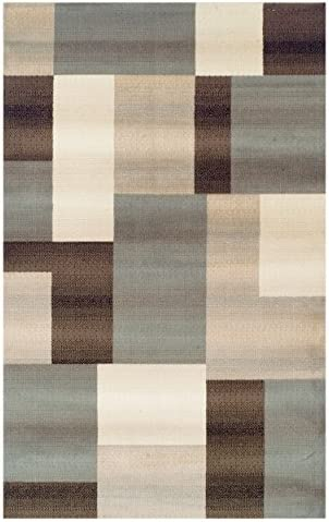 SUPERIOR Mack Modern Geometric Tile Indoor Area Rug