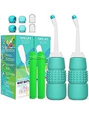 2PCS-Pack PERI Bidet Fles 350ml voor Volwassen Kids Postpartum Care - Travel Bidet - Draagbare Bidet Sproeier - Handheld Bidet voor Toilet 12oz