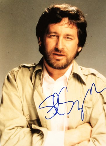 2001 - Steven Spielberg Autographed 8x10 Color Photo, used for sale  Delivered anywhere in USA
