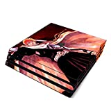 Decorative Video Game Skin Decal Cover Sticker for Sony PlayStation 4 Pro Console PS4 Pro - Bleach Ichigo