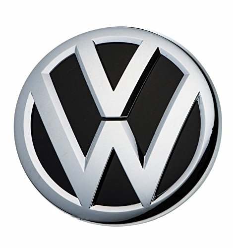 VW OEM Front Grille Emblem fits most Jetta 2015 2016 2017 - Except Hybrid & Models with Collision Warning