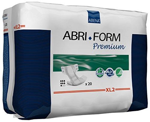 Abena Abri-Form Premium Incontinence Briefs, Extra Large, XL2, 20 Count