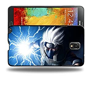 Case88 Designs Hatake Kakashi Shippuden Protective Snap-on Hard Back Case Cover for Samsung Galaxy Note 3