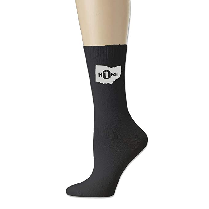 AIERYO Ohio State Home Womens Over The Calf Crew Socks