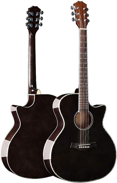 Guitarra De Placa Única 40 Pulgadas Placa Única Spruce Guitarra ...