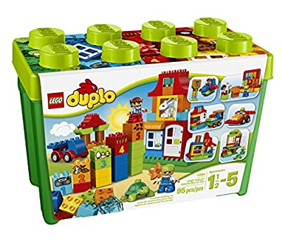 LEGO® DUPLO®, My First Deluxe Box of Fun Building Toy- Item #10580