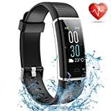 MayuFit Fitness Tracker, Color Screen Activity Tracker with Heart Rate Monitor Watch Bluetooth