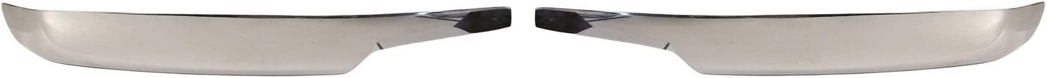 Carcasas Retrovisores Cromados para SANTA FE II 2006-2009 Acero Inoxidable 2 juego Tapas de Espejo Exteriores