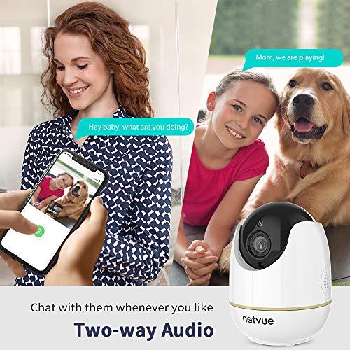 1080P Pet Camera, Home Camera 2 Way Audio, Baby Monitor Night Vision