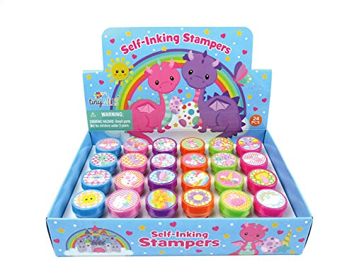 TINYMILLS 24 Pcs Dragon Stampers for -