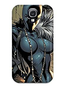 New Snap-on ZippyDoritEduard Skin Case Cover Compatible With Galaxy S4- Black Panther