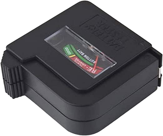 Rechargeable Button Cell Battery Volt Tester Checker AA//AAA//C//D//18650//9V//1.5V
