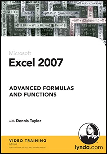Excel 2007: Advanced Formulas and Functions