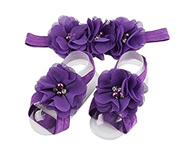 XCSSKG Juego de 3 Diademas de Flores para beb/és y ni/ñas Amarillo Amarillo