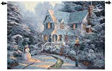 Christmas Traditions The Night Before Cotton Wall Art Hanging Tapestry 35'' x 53''