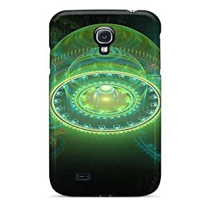 Excellent Design Green Abstract Balls Phone Case For Galaxy S4 Premium Tpu Case