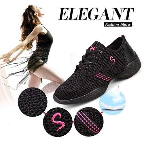 Salle De Bal Doux Pratique Sport Femme Respirant Fantasyworld Danse Sneakers Eté Mesh Chaussures Jazz Printemps zqaxx5wHv