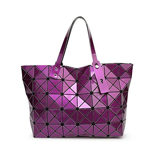 géométrique pour sacs bandoulière loisirs sac à Femmes travail Messenger à Violet les sac réglable poignée sacs sac dames main bandoulière Top Shopping à w0TqSI