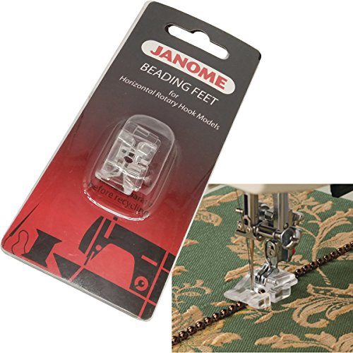 - HONEYSEW Beading Foot In Two Sizes For Janome Horizontal Rotary Hook Models