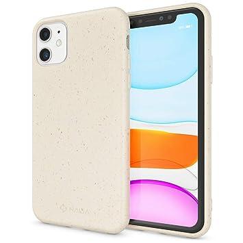 NALIA Bio Case Compatible con iPhone 11 Funda, Natural Eco ...
