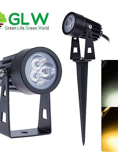 Brandneu 9w Mini LED Strahler Flutlicht im Freien Garten Rasen  JQ87