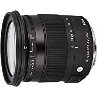 Sigma 884101 F2.8-4 Contemporary DC Macro OS HSM 17-70mm Zoom Lens for Canon EF-S Cameras - International Version (No Warranty)