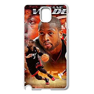 TOSOUL Customized Print Dwyane Wade Hard Skin Case Compatible For Samsung Galaxy Note 3 N9000