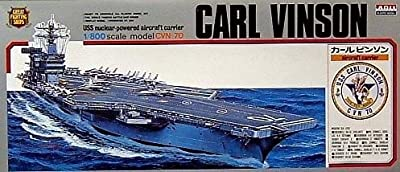 Micro ACE(arii) 1/800 battleship & aircraft series No.9 U.S. Navy aircraft carrier Carl Vinson plastic