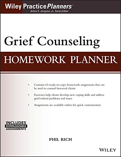 Grief Counseling Homework Planner, (with Download) (PracticePlanners)