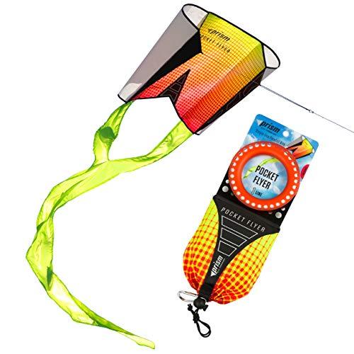 Pocket Flyer Single Line Kite Inferno - Ready for Flight Wherever Adventure Takes You
