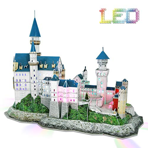 3D Puzzle With Led Lights