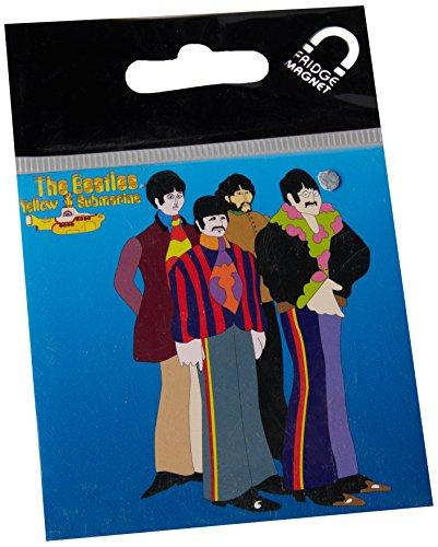 The Beatles Yellow Submarine Sea Of Science Fridge Magnet