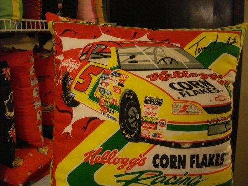 Terry Labonte Racing Car Pillow