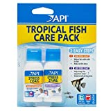 API TROPICAL FISH CARE PACK Water Conditioner 1-Ounce Bottle 2-Pack