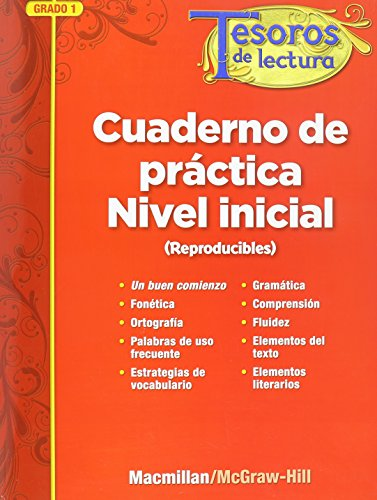 Tesoros de lectura, A Spanish Reading/Language Arts Program, Grade 1, Approaching Reproducibles (ELEMENTARY READING TREA