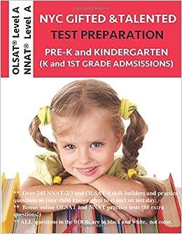 Nyc Gifted And Talented Test Prep Nnat 23 Workbook Olsat Workbook