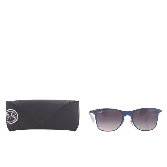 bbfde5493e ... switzerland ray ban wayfarer flat sunglasses blue 161 8g 52 mm c5da9  e6674