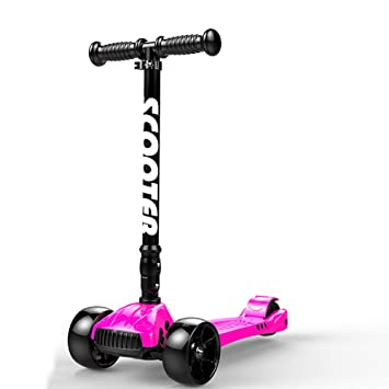 Patinete YXX Scooter Kick Scooters para niños con 4 Ruedas ...