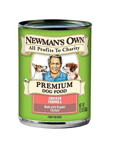 Newman's Own Premium Dog Food, Organic Chicken Formula, 12.7 Ounce (Pack of 6)