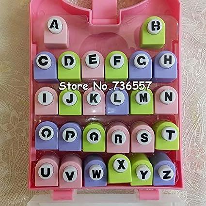 Amazon.: Paper Cutter: 26 English Letter/Alphabet Craft Hole