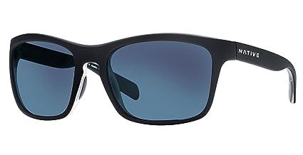 ceda762edc Native Eyewear Unisex Penrose Matte Black Crystal Crystal Blue Reflex