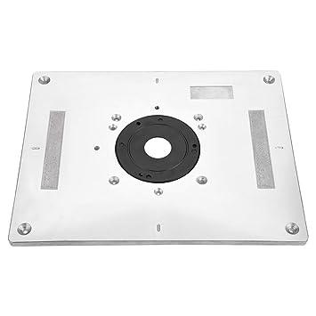 Mesa de fresado - 300 mm x 235 mm x 9,5 mm DIY Placa de inserción ...