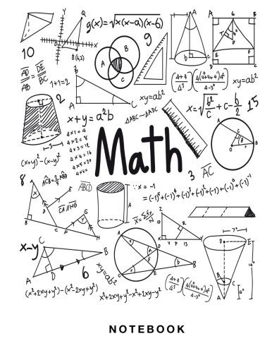 Math Notebook 12 Inch Square Graph Paper Pages And White Paper