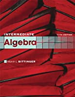 Intermediate Algebra, 11th Edition Front Cover