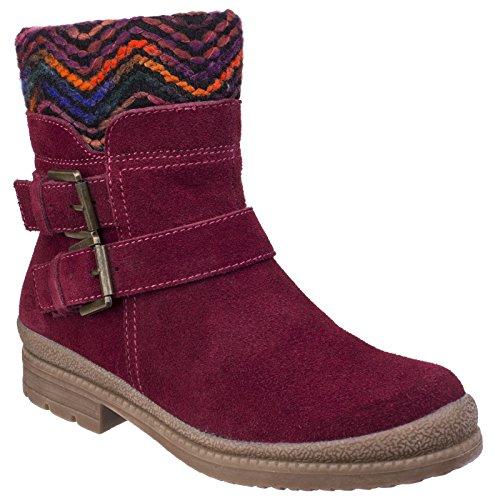 Fleet And Foster Women's Boots 5 UK - Bordo Uk