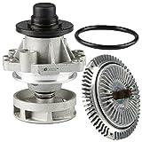 e46 electric fan - TOPAZ 11527505302 Engine Cooling Fan Clutch + 11517527799 Water Pump for BMW